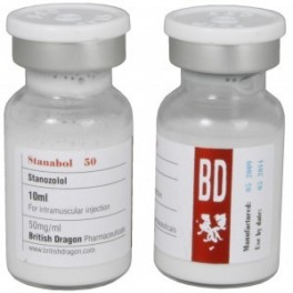 Stanabol 50, Staozolol, British Dragon
