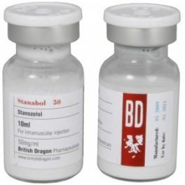 Stanabol 50, Staozolol, British Dragon