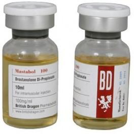 Mastabol 100, Drostanolone Propionate, British Dragon